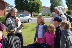 Dela trädgård och förskolan i samarbete