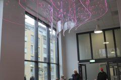 Caféet under invigningen. Foto © Annelie Wallin 2020.