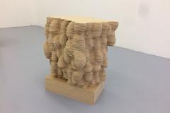 Fungus B, Installationsbild från utställningen Skikt på IDI galleri i Stockholm 2018.