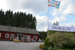 Skogsliv, en kulturfestival i Mellbyskogen 2016.